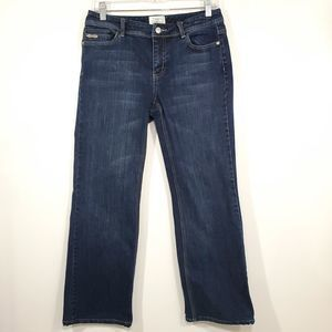White House Black Market Boot Cut Jeans 6s